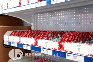 Pegboard Shelving Slat Panel Display Shopfitting 7