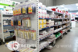 Pegboard Shelving Slat Panel Display Shopfitting 9