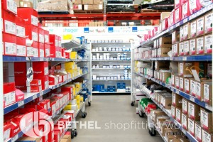 Pegboard Shelving Slat Panel Display Shopfitting 21