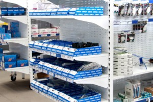 Pegboard Shelving Slat Panel Display Shopfitting A