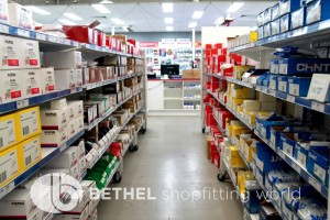 Pegboard Shelving Slat Panel Display Shopfitting 11
