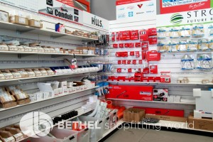 Pegboard Shelving Slat Panel Display Shopfitting 13