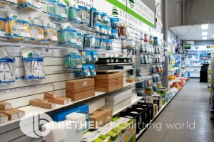 Pegboard Shelving Slat Panel Display Shopfitting 15