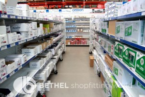 Pegboard Shelving Slat Panel Display Shopfitting 19