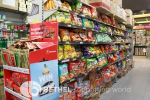 Asian Chinese Grocer Shop Shelving Heavy Duty10