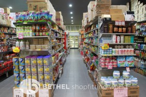 Asian Chinese Grocer Shop Shelving Heavy Duty12