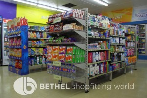 Service Station Petrol Station Shelving Shopfitting2