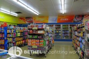 Service Station Petrol Station Shelving Shopfitting4