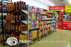 Service Station Petrol Station Shelving Shopfitting7