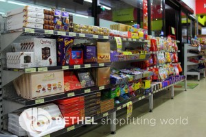 Service Station Petrol Station Shelving Shopfitting10