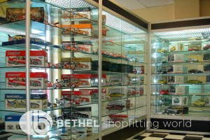 Hobby Store Shelving Glass Showcases Counters 03