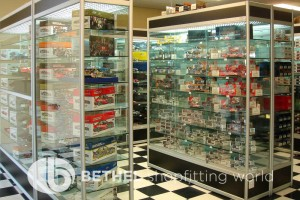 Hobby Store Shelving Glass Showcases Counters 04