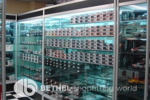 Hobby Store Shelving Glass Showcases Counters 08