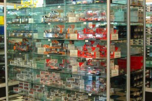 Hobby Store Shelving Glass Showcases Counters a