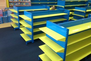 Bethel Shopfitting World specialize in custom made shelving for many chain stores including the very well known ToyWorld under ARL branding.