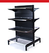 SYS-AG Hammertone Grey Heavy Duty Shelving